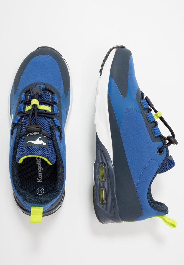 KX-HYDRO - Joggesko - dark navy/lime