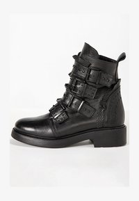 Inuovo - Cowboy/biker ankle boot - black blk - 1