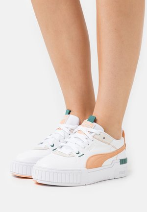 CALI SPORT MIX - Sneakers laag - white/peach cobbler