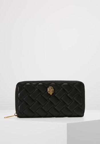 ZIP AROUND WALLET EAGLE - Peněženka - black