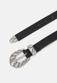 ONLY - ONLANGLE BUCKLE BELT - Belt - black - 1