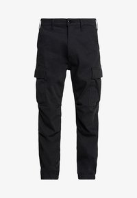 TAPERED CARGO - Cargo trousers - caviar