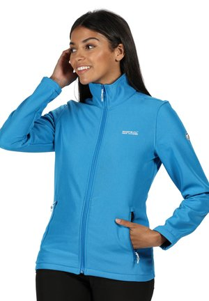CONNIE  - Soft shell jacket - blue aster
