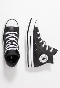 Converse - CHUCK TAYLOR ALL STAR PLATFORM - Sneakers hoog - black/white - 0