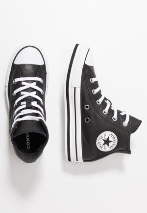 CHUCK TAYLOR ALL STAR PLATFORM - High-top trainers - black/white
