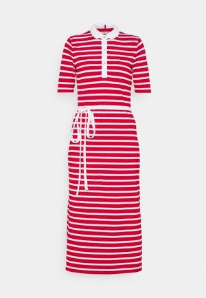 BRETON REGULAR MIDI DRESS - Sukienka letnia - primary red