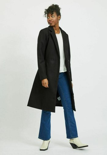 VIPAKA COOLEY TIE BELT  - Klasyczny płaszcz - black