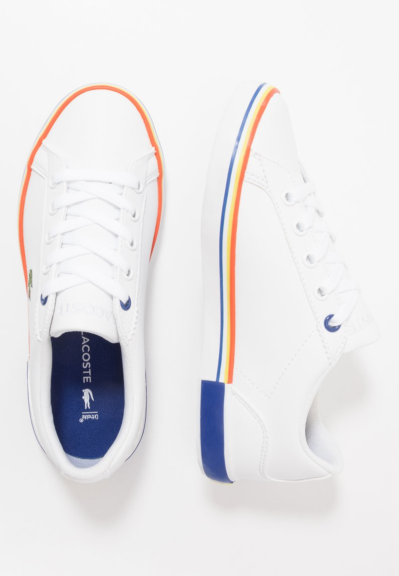 Lacoste - LEROND - Trainers - white/dark blue
