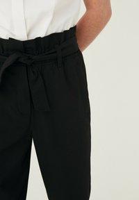 Next - SENIOR PAPERBAG  - Kalhoty - black - 0