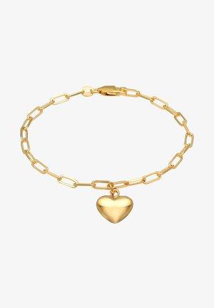 HEART LOVE - Armband - gold