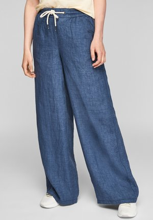 Trousers - faded blue melange