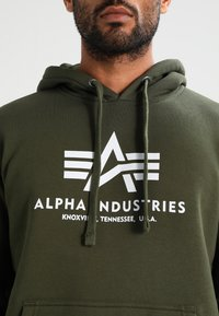 Alpha Industries - Hoodie - dark green - 3