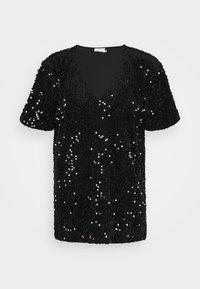 Kaffe - KACOLENE  - Print T-shirt - black - 0