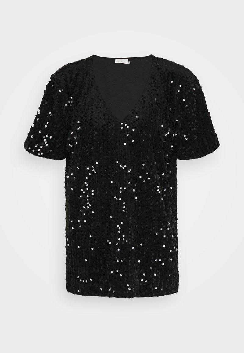 Kaffe - KACOLENE  - Print T-shirt - black