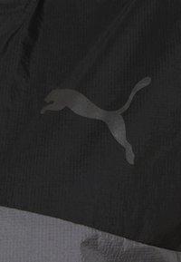 Puma - RUN LAUNCH ULTRA JACKET  - Løperjakke - black/castlerock - 2