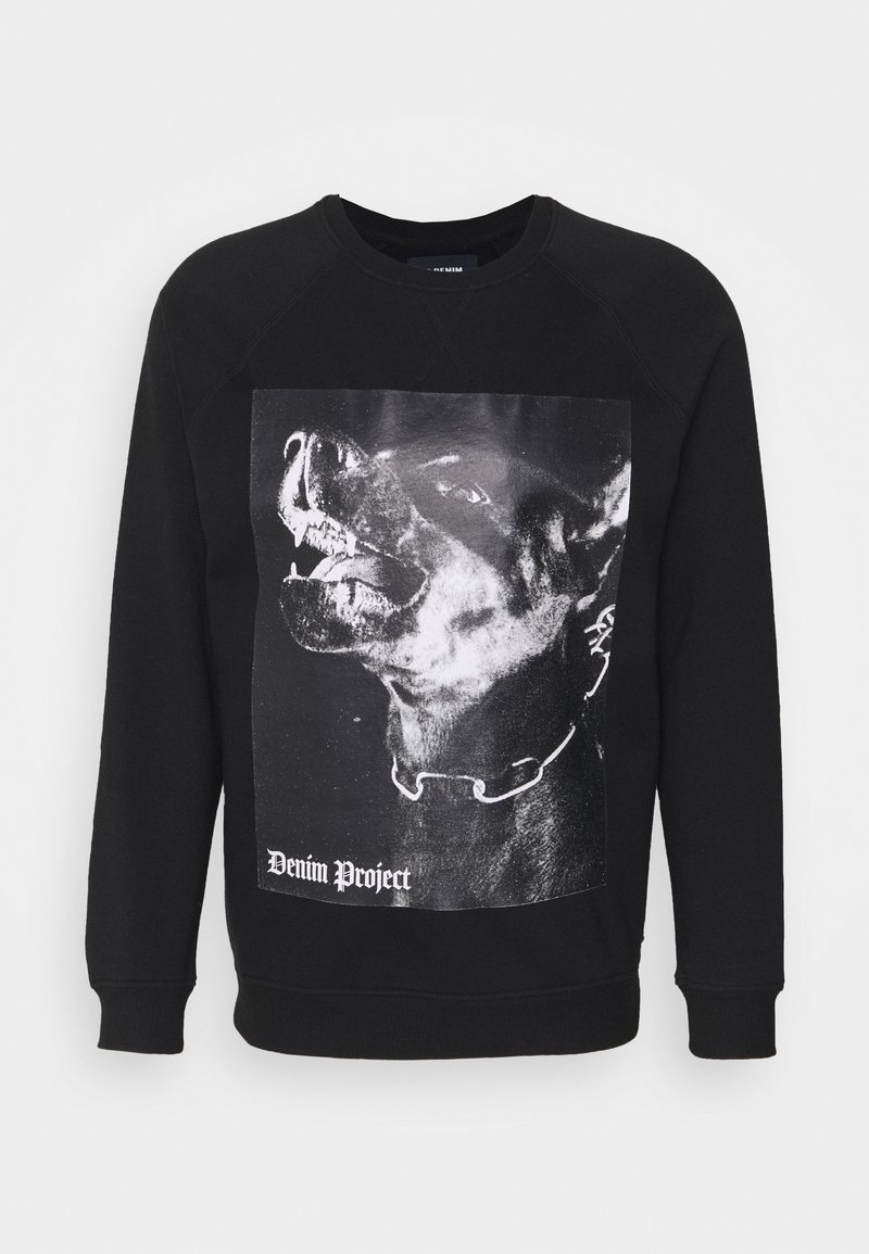 Denim Project - DOG CREW - Sweatshirt - black