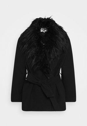COLLAR JACKET - Lehká bunda - black