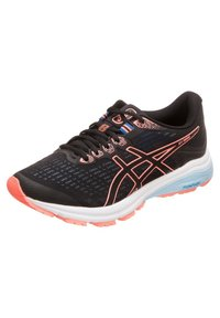 ASICS - GT-1000 8 - Zapatillas de running neutras - black/sun coral - 2