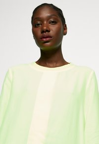 Rich & Royal - BLOUSE WITH COLLAR - Pusero - neon yellow - 5