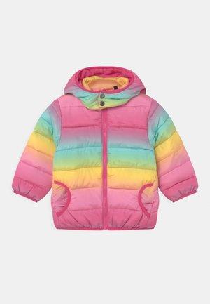 KIDS GIRLS WOVEN HOOD - Winter jacket - pink