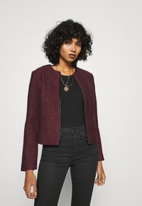 ONLY - ONLTIPPIE MAYA SHORT ZIP JACKET - Blazer - port royale/black - 0