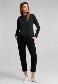 Esprit - FASHION - Long sleeved top - black - 1