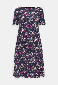 Lauren Ralph Lauren Woman - MUNZIE CASUAL DRESS - Sukienka z dżerseju - lauren navy/multi - 0