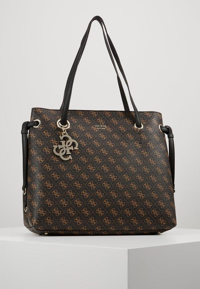 Shopping bag - brown