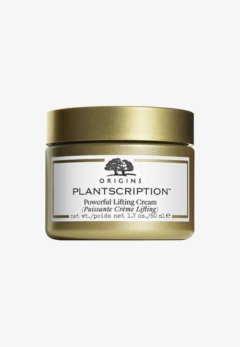 PLANTSCRIPTION POWERFUL LIFTING CREAM  - Face cream - -