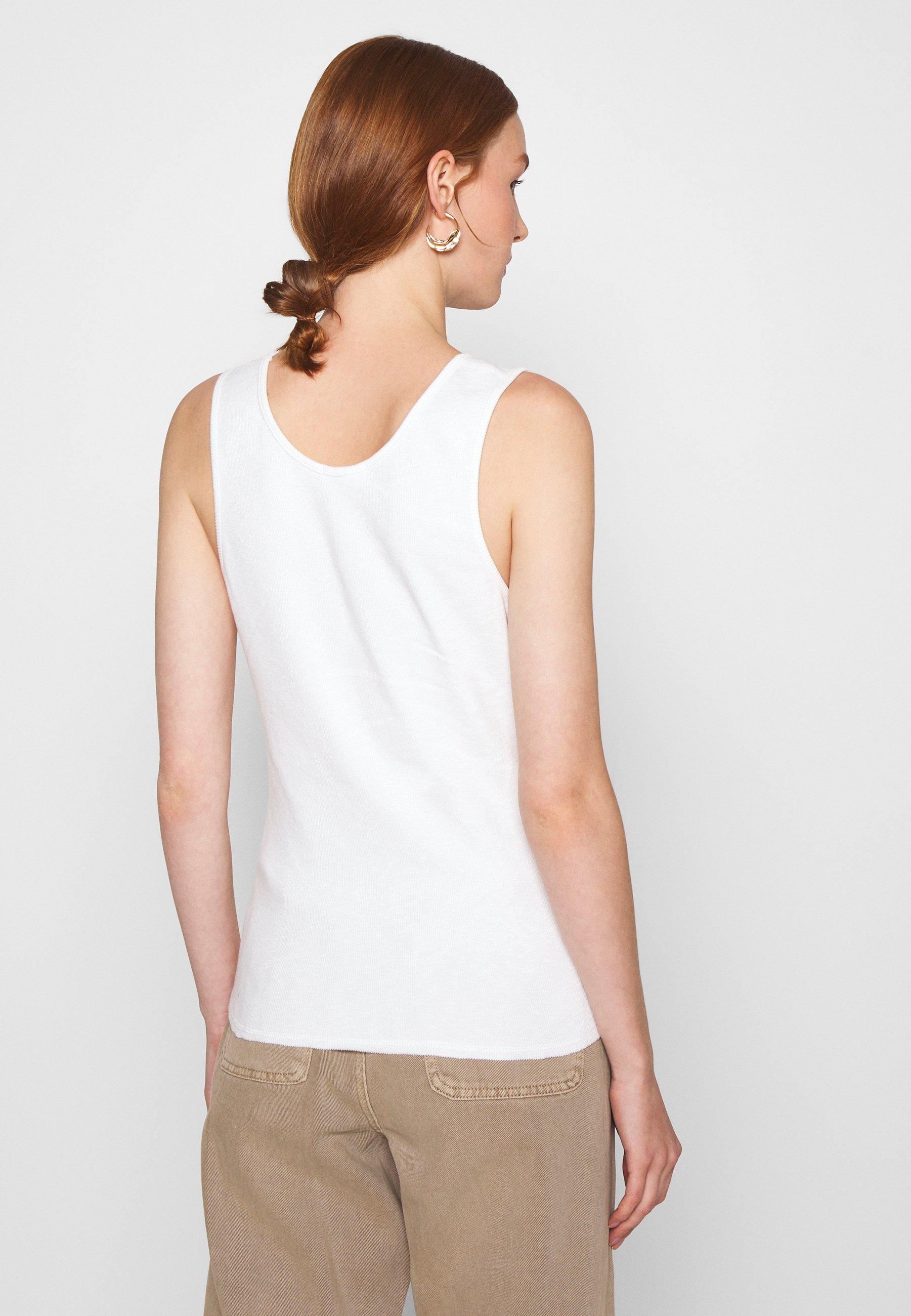 American Vintage SONICAKE - Débardeur - blanc - Tops & T-shirts Femme ySt2K