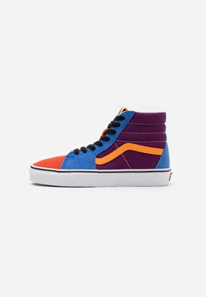 SK8 UNISEX  - High-top trainers - grape juice/bright marigold