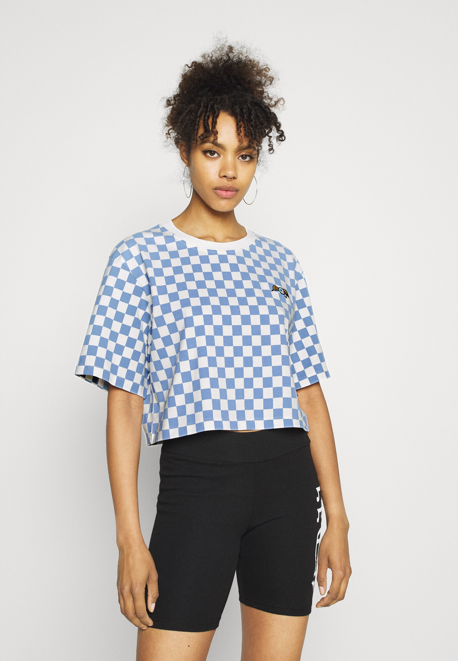 Donna CHESSBOARD TEE - T-shirt con stampa