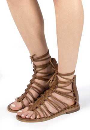 Ankle cuff sandals - penny