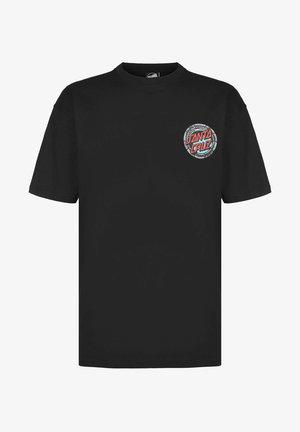 POOL SNAKES HAND - Print T-shirt - black