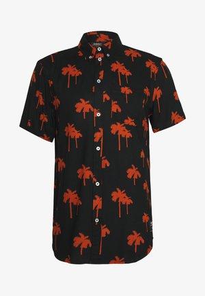 ODEN PALM - Shirt - black