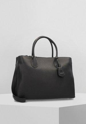 ADRIA - Tote bag - black/nickel