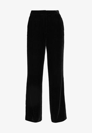 GEORGINA - Trousers - black