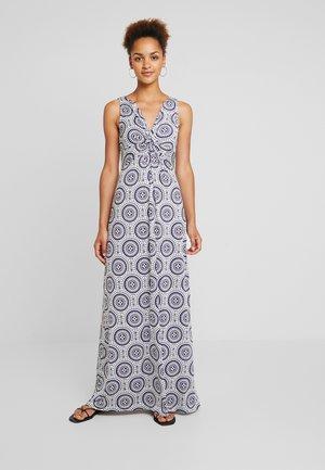 Maxi dress - white/off-white/dark blue