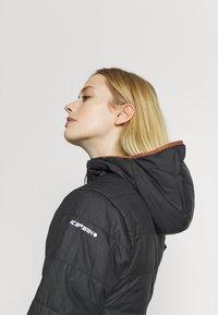 Icepeak - DAGSPORO - Vinterjakker - black - 4