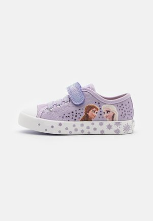 Disney Frozen Elsa GEOX JUNIOR CIAK GIRL - Sneakers basse - lilac/white