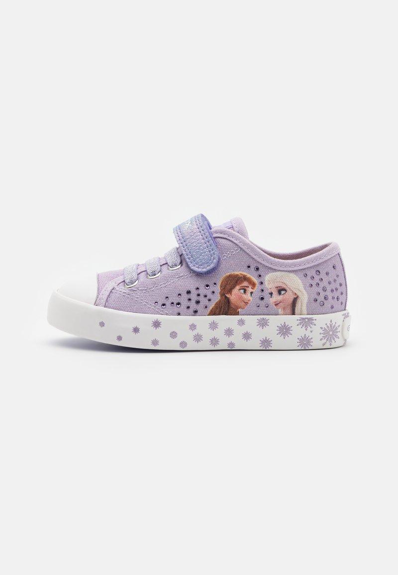 Geox - Disney Frozen Elsa GEOX JUNIOR CIAK GIRL - Tenisky - lilac/white