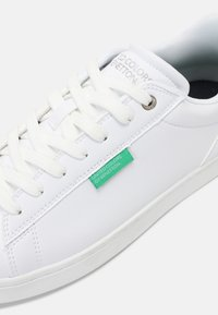 Benetton - LABEL - Trainers - white/deep - 4