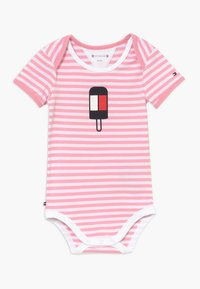 Tommy Hilfiger - BABY STRIPED - Body - pink - 0