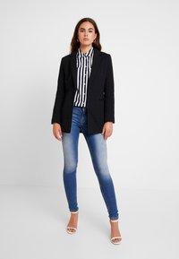 ONLY - ONLCARMEN - Jeans Skinny Fit - dark blue denim - 1