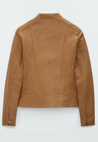 Massimo Dutti - Leather jacket - brown - 6
