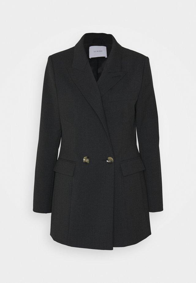 Pitkä takki - anthracite