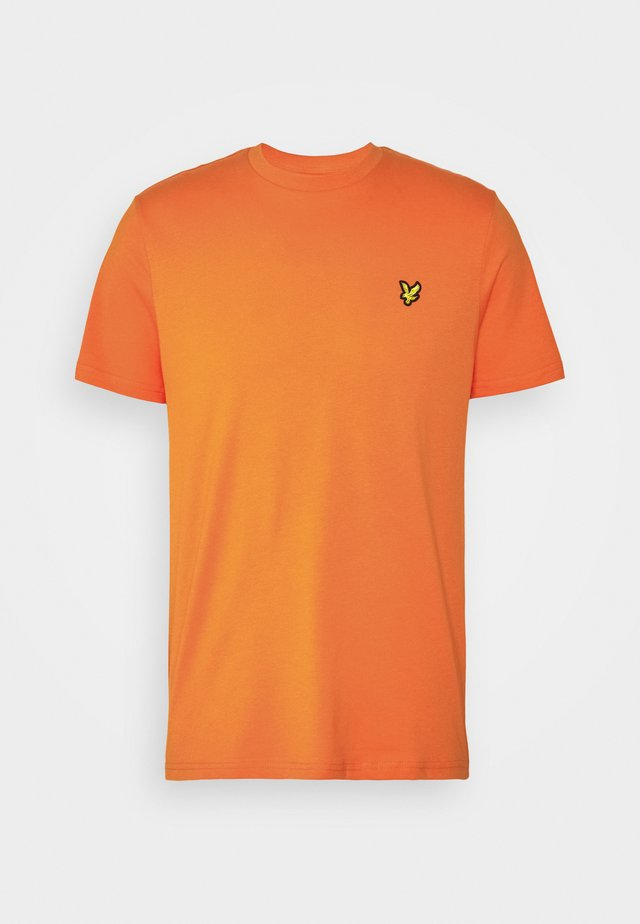 T-shirt basic - risk orange