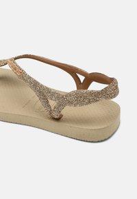 Havaianas - LUNA PREMIUM - T-bar sandals - sand grey - 6
