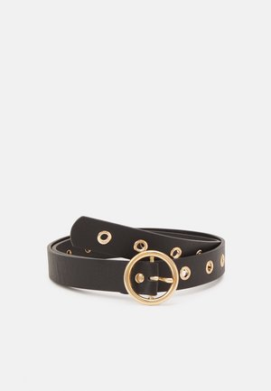PCMARLA BELT - Belt - black/gold-coloured