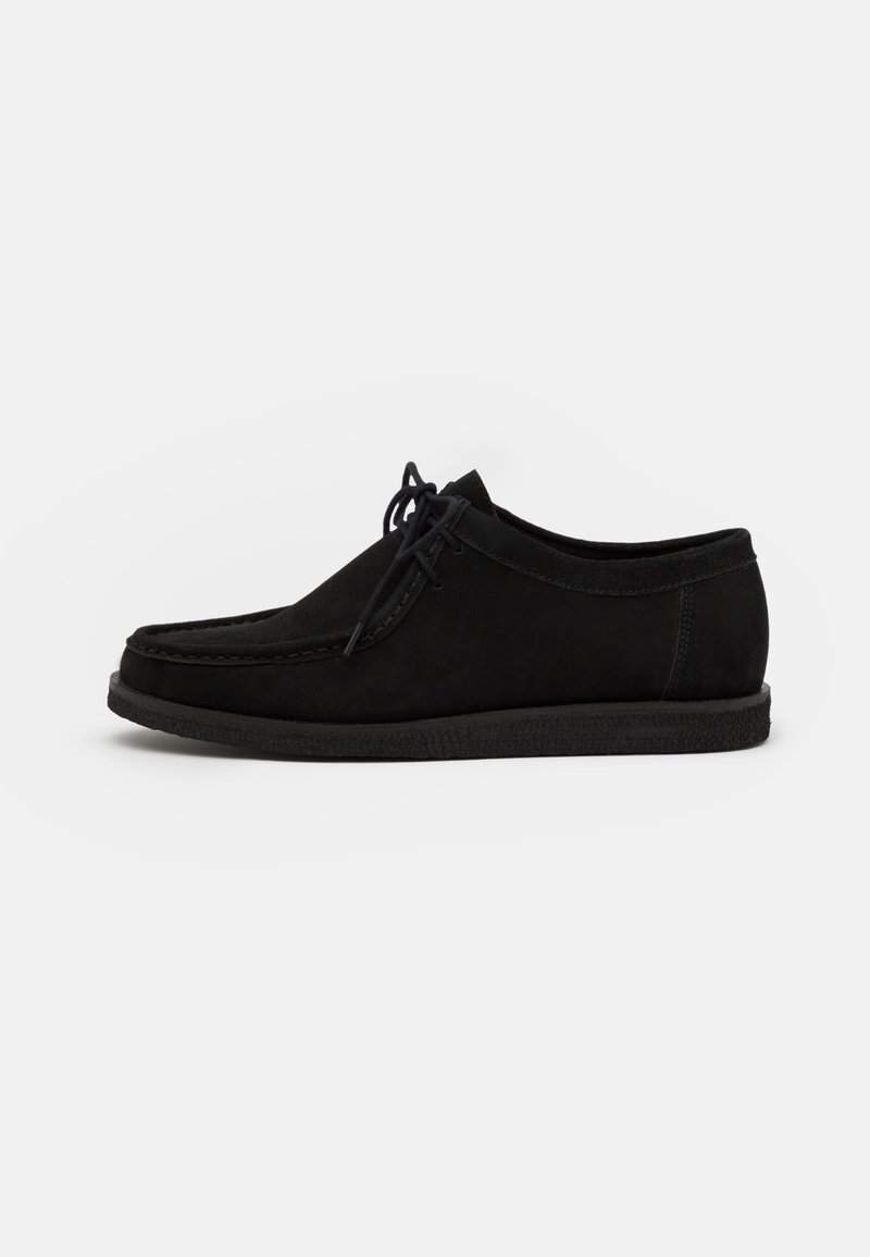 Zign - LEATHER - Casual lace-ups - black